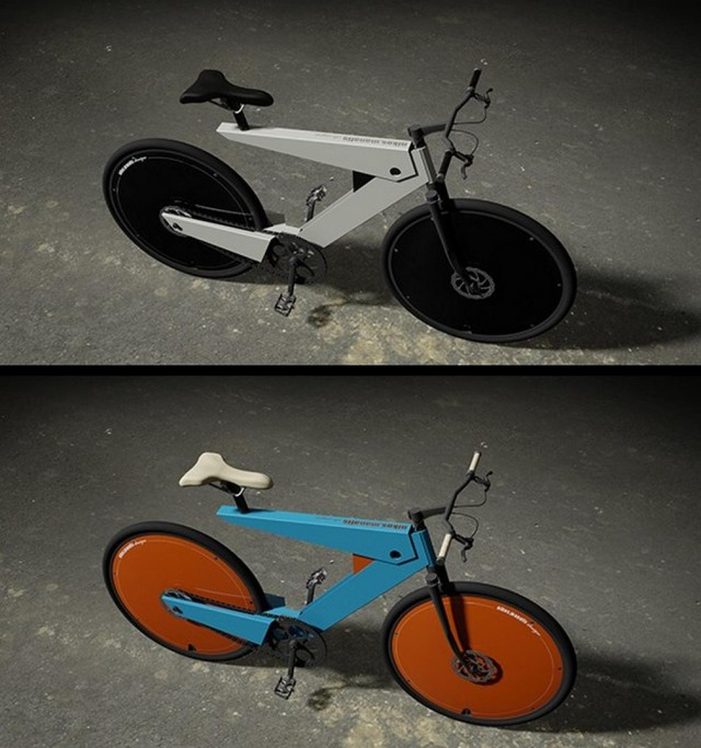 Aerodynamic e-bike concept  1