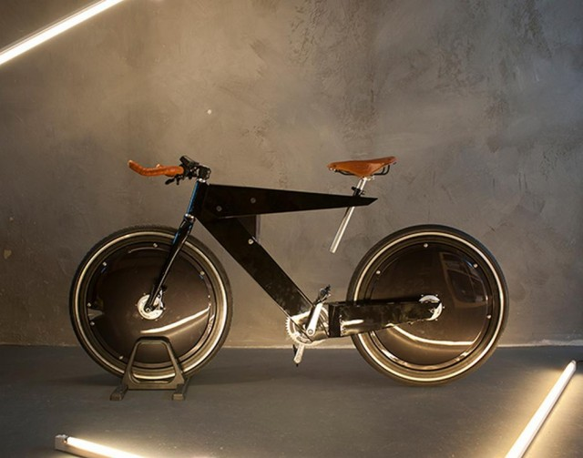 Aerodynamic e-bike concept (5)
