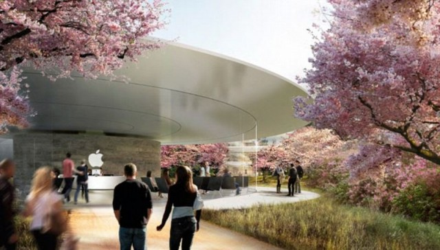 Apple reveals new images of its Spaceship like headquarters (4)