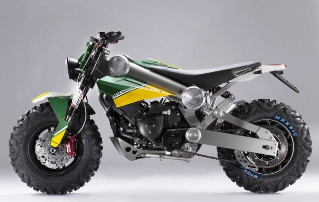 Caterham launched cool electric bikes (6)