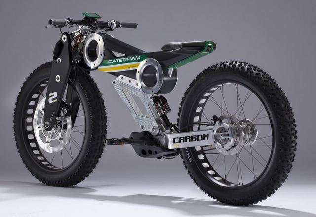 Caterham launched cool electric bikes (4)