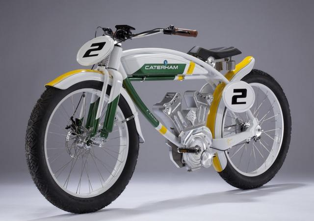 Caterham launched cool electric bikes (5)