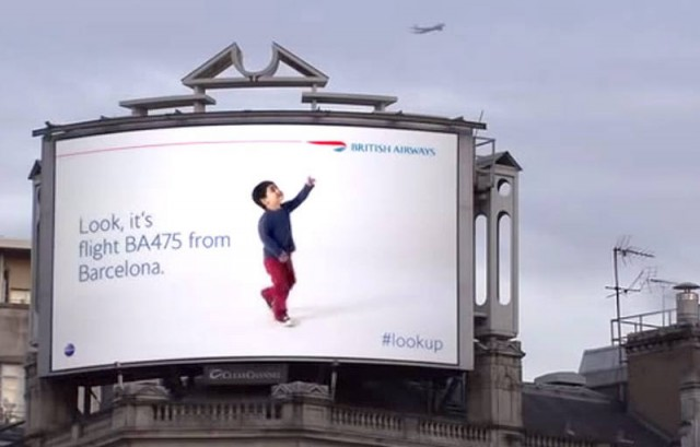 WordlessTech Creative Billboard Identifies British