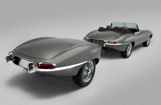 First Stretched Jaguar E-Type unveiled (7)