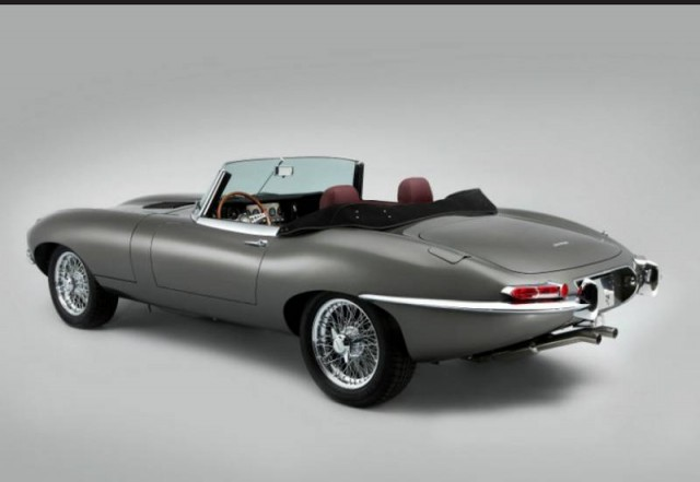 First Stretched Jaguar E-Type unveiled (6)