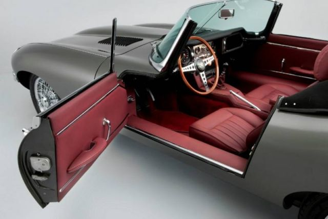 First Stretched Jaguar E-Type unveiled (3)