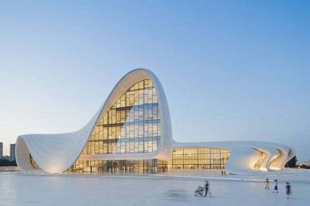 Heydar Aliyev Center by Zaha Hadid new images  (1)