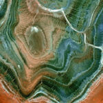 Hoggar Mountains from space
