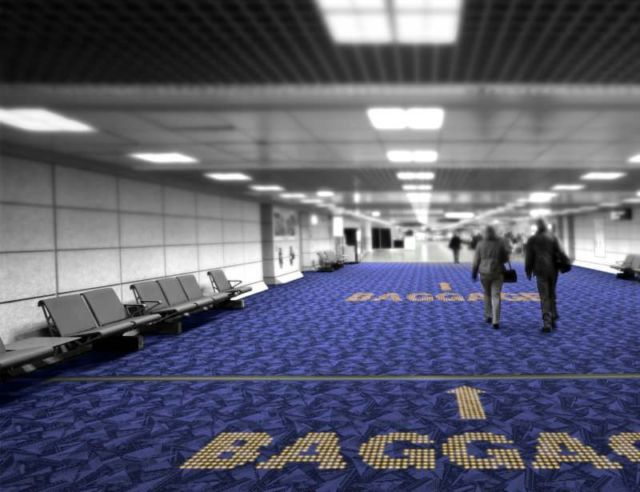 LED Carpets will show the way in Airports 2