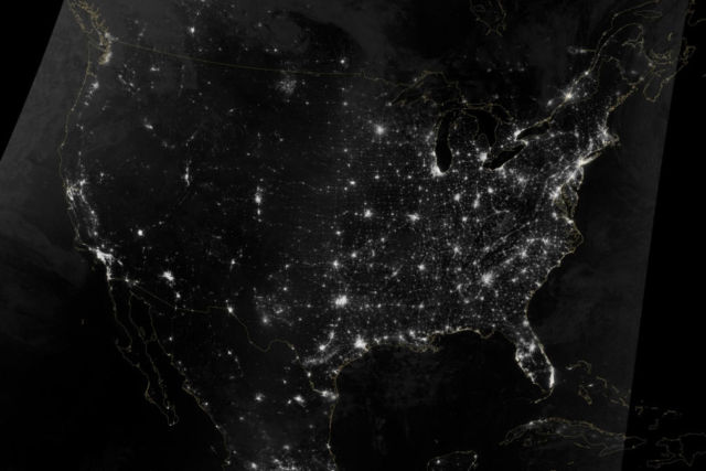 Lighting the Paths across the US