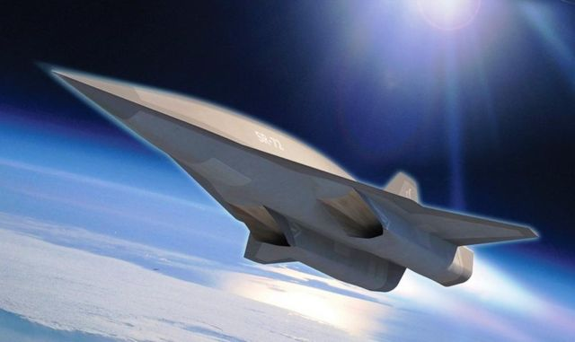 Lockheed Martin's successor to the SR-71 Blackbird 1