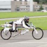 New Rocket Bicycle record 285 km/h