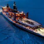 Nuclear icebreaker expedition to the North Pole