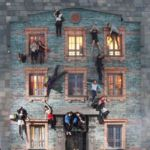 Optical illusions in Shanghai by Leandro Erlich