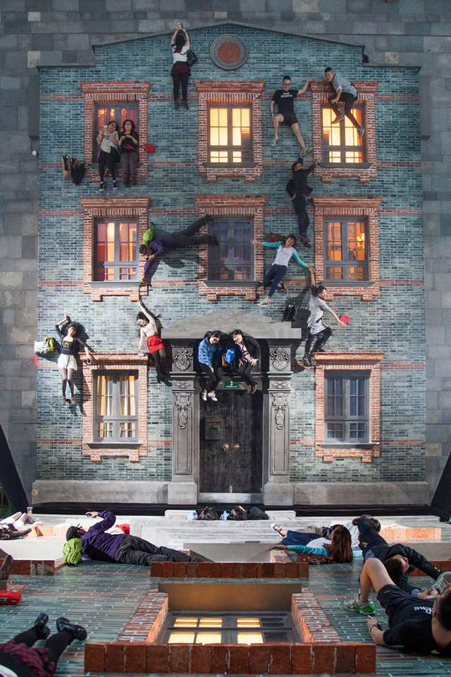Optical illusions in Shanghai by Leandro Erlich (4)