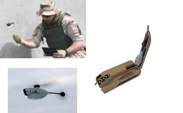 Palm-size drone observes over Battlefield 2
