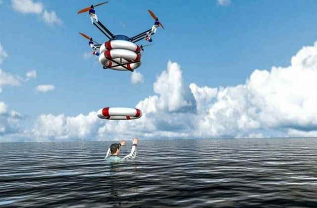 Pars Rescue flying robot has been tested 2
