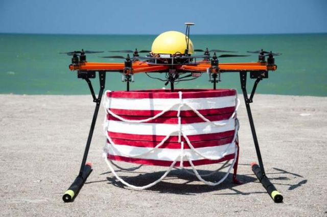 Pars Rescue flying robot has been tested 3