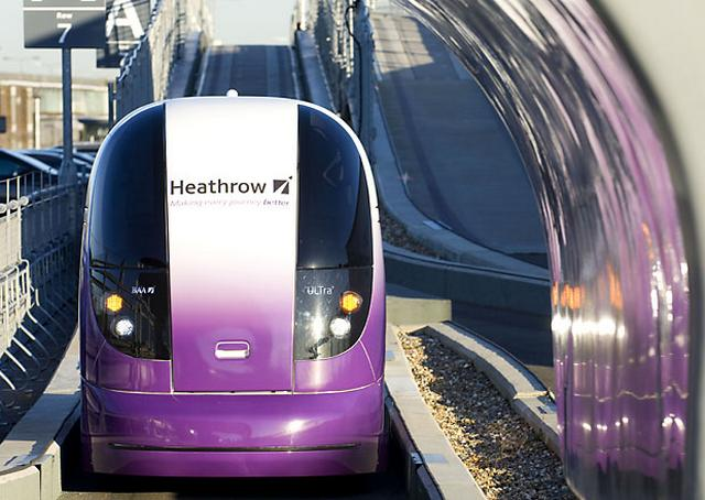 Self-Driving Electric Pods to be Installed near London  1
