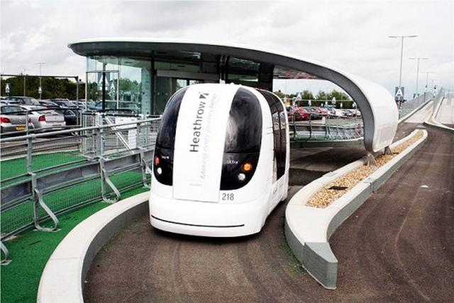 Self-Driving Electric Pods to be Installed near London  2