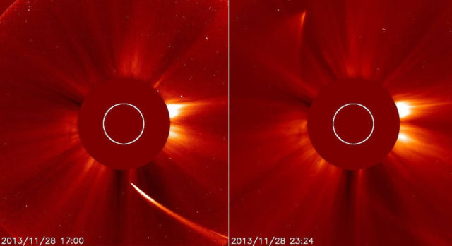 The end of Comet ISON (1)