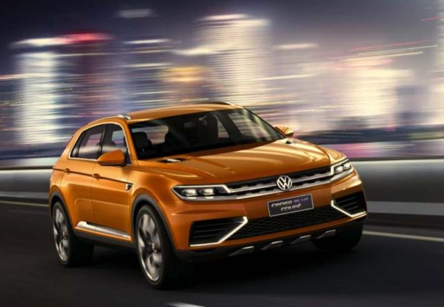 Volkswagen CrossBlue Coupe concept 1