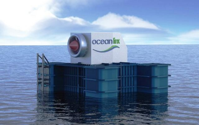World's first 1 MW Wave energy power plant 1