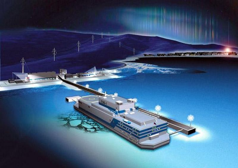World's first Floating Nuclear Power Plant 1