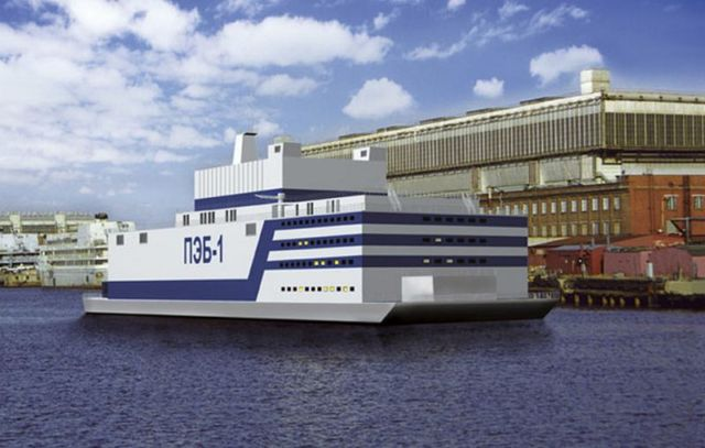World's first Floating Nuclear Power Plant 2