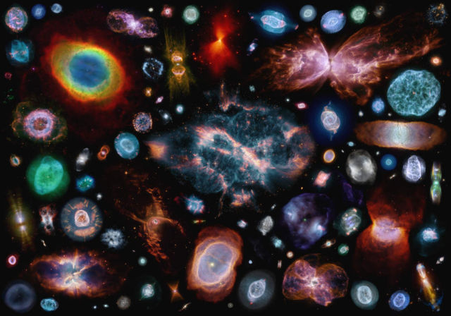 100 planetary nebulas in one image