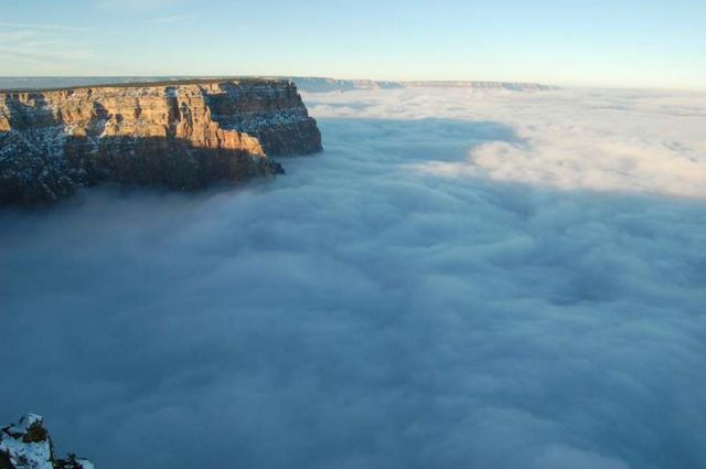 An Ocean of Clouds in Grand Canyon 1