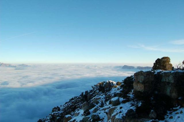 An Ocean of Clouds in Grand Canyon (5)