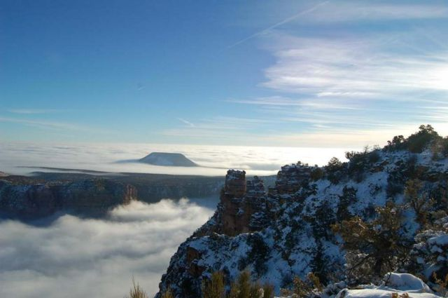 An Ocean of Clouds in Grand Canyon (4)