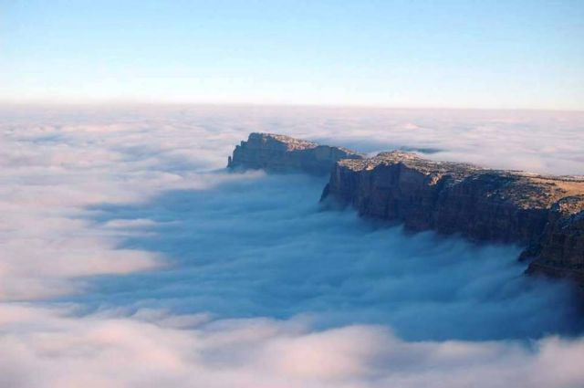 An Ocean of Clouds in Grand Canyon (2)