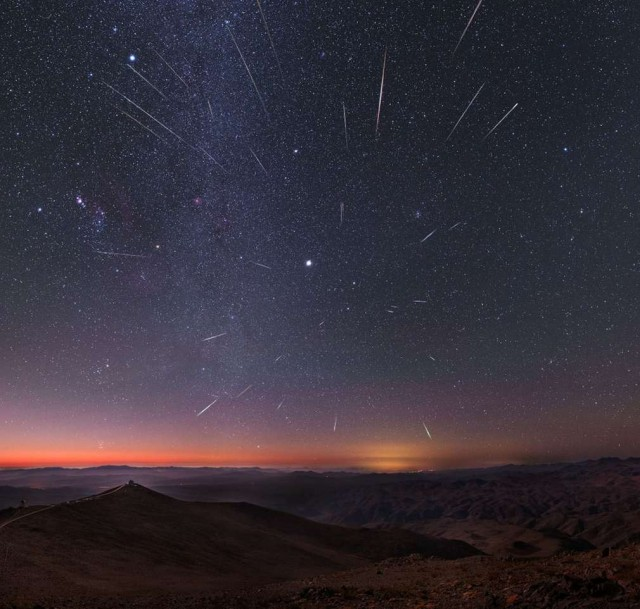 Annual Geminid meteor shower 2
