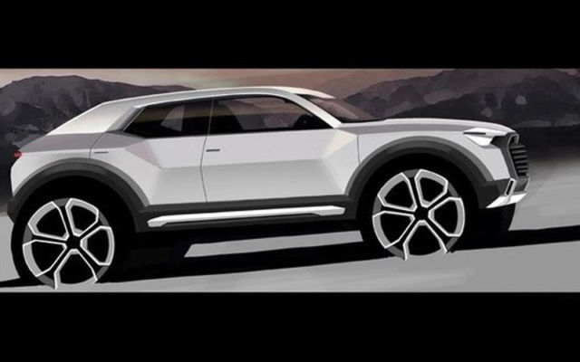 Audi Q1 SUV goes into production in 2016