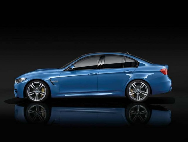 BMW M4 Coupe and M3 Saloon (2)