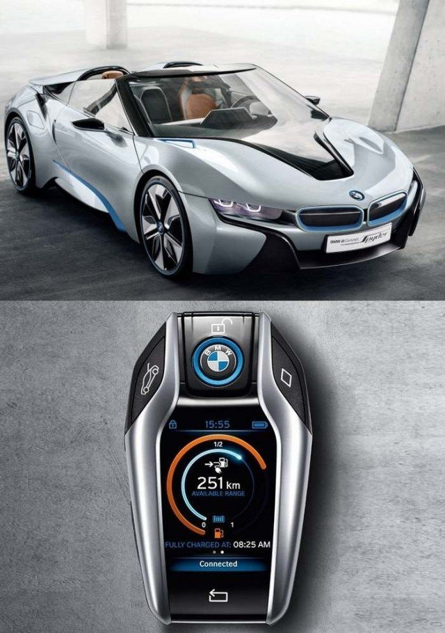 Bmw I8 Spyder And The New Key Wordlesstech