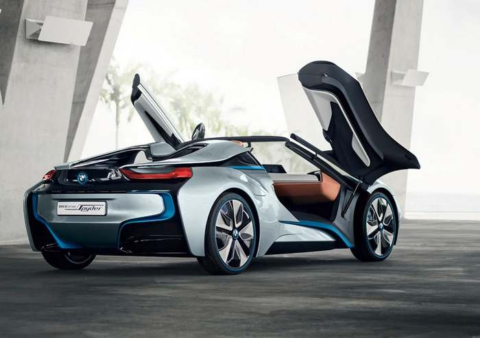 BMW I8 Spyder And The New Key (14)