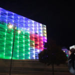 Building's lights controlled by a Rubik's Cube