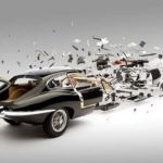 Explodes views of Classic Sports Cars by Fabian Oefner