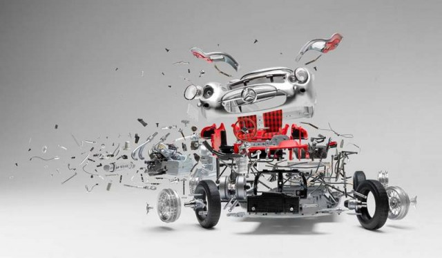 Explodes views of Classic Sports Cars by Fabian Oefner (6)