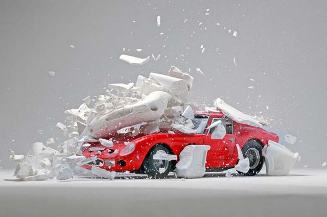 Explodes views of Classic Sports Cars by Fabian Oefner (5)
