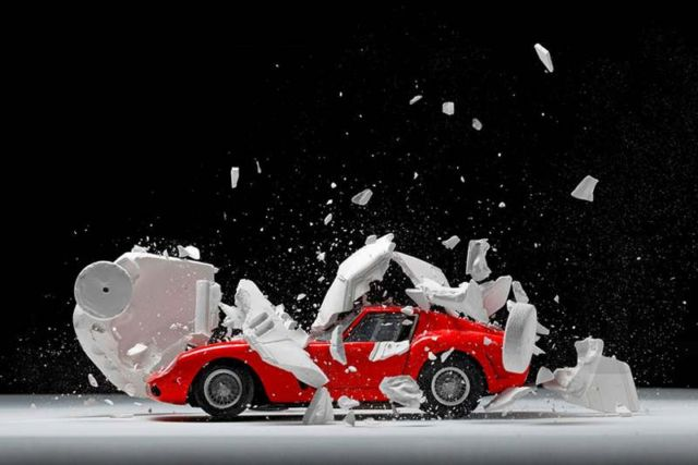 Explodes views of Classic Sports Cars by Fabian Oefner (4)