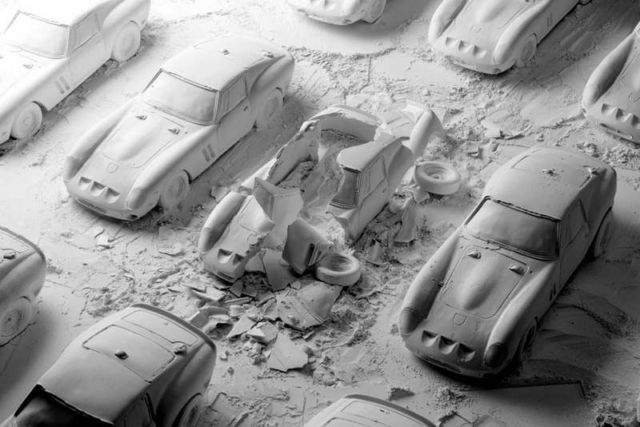 Explodes views of Classic Sports Cars by Fabian Oefner (2)