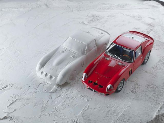 Explodes views of Classic Sports Cars by Fabian Oefner (1)