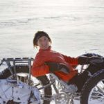 First person to cycle to the South Pole