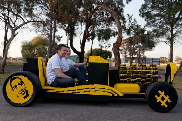 Full scale LEGO car 2