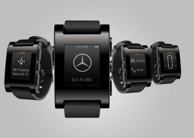Mercedes-Benz smartwatch 1