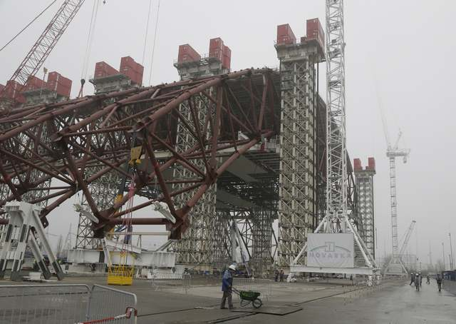 One of the biggest engineering projects in Chernobyl 3
